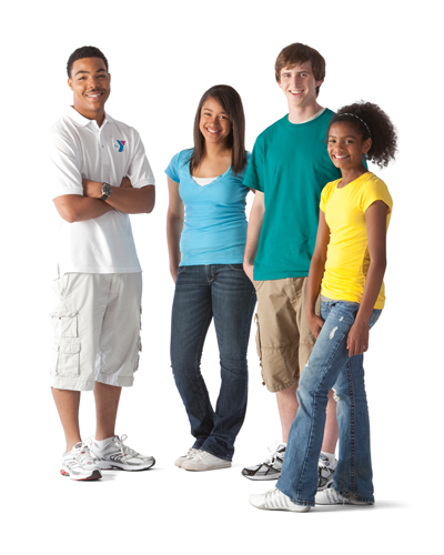 A Group of Teens